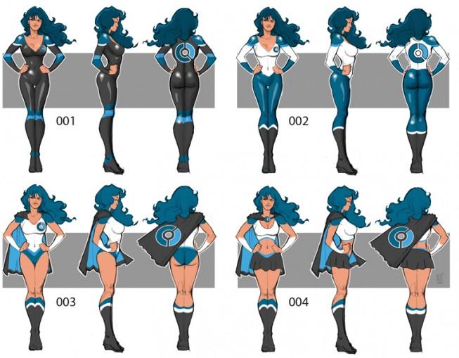 Costume variations