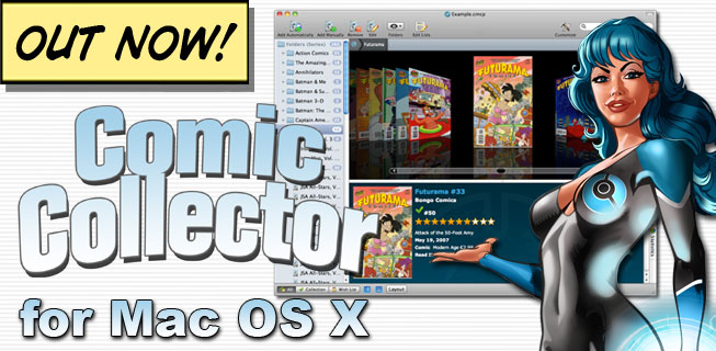 Out Now! Comic Collector 5 for Mac OS X