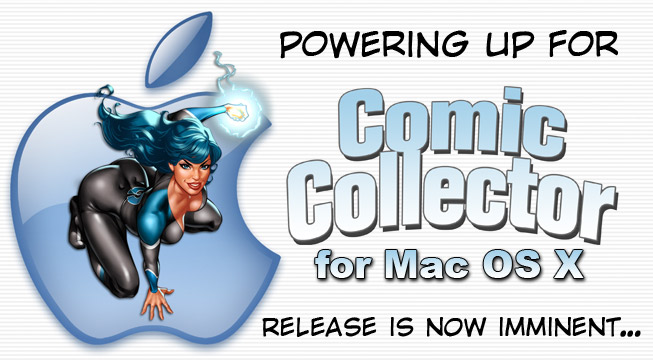CeCe is powering up for Comic Collector 5 for Mac OS X release