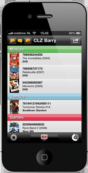 Barcode List