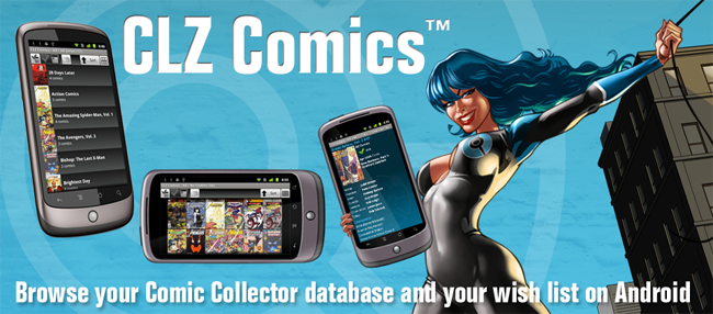 CLZ Comics for Android
