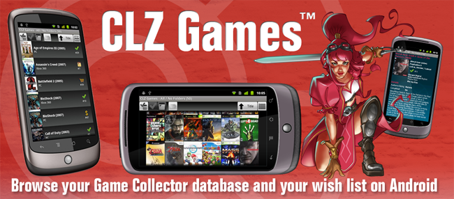 CLZ Games for Android