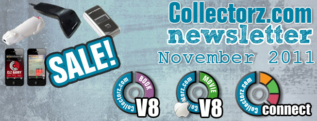 Collectorz.com newsletter November 2011