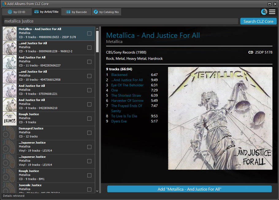 What's new in Music Collector for Windows? - Collectorz com